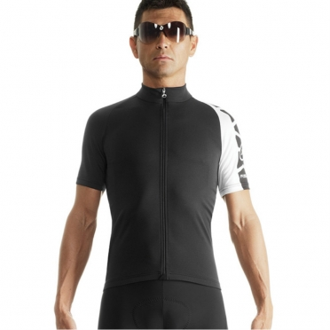 Assos SS.milleJersey_evo7 cycling jersey white men